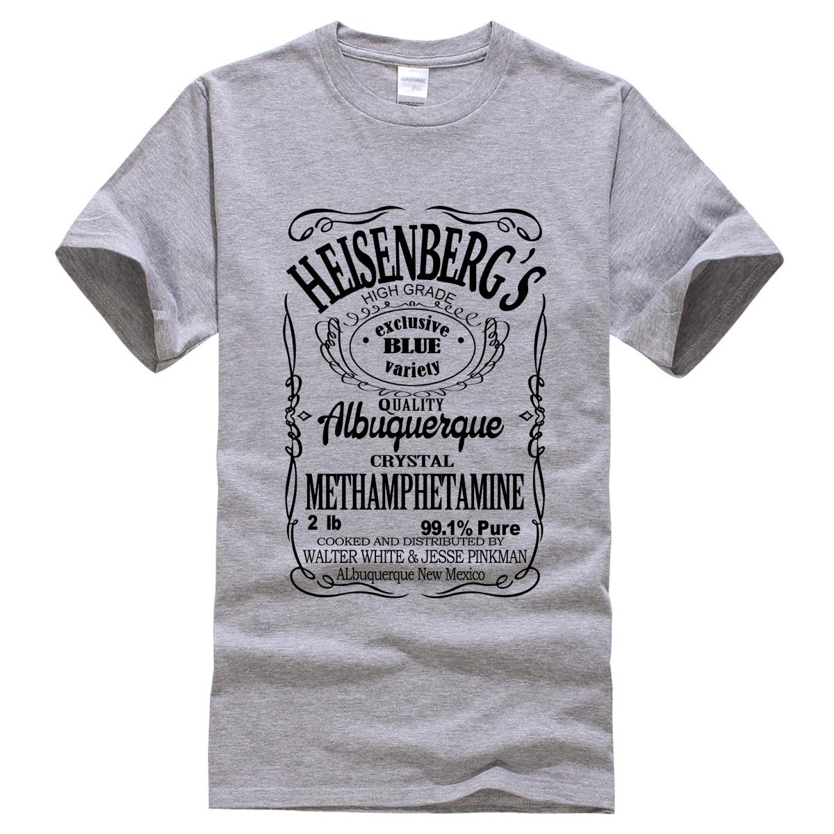 Men t Shirt Summer 19 Print BREAKING BAD