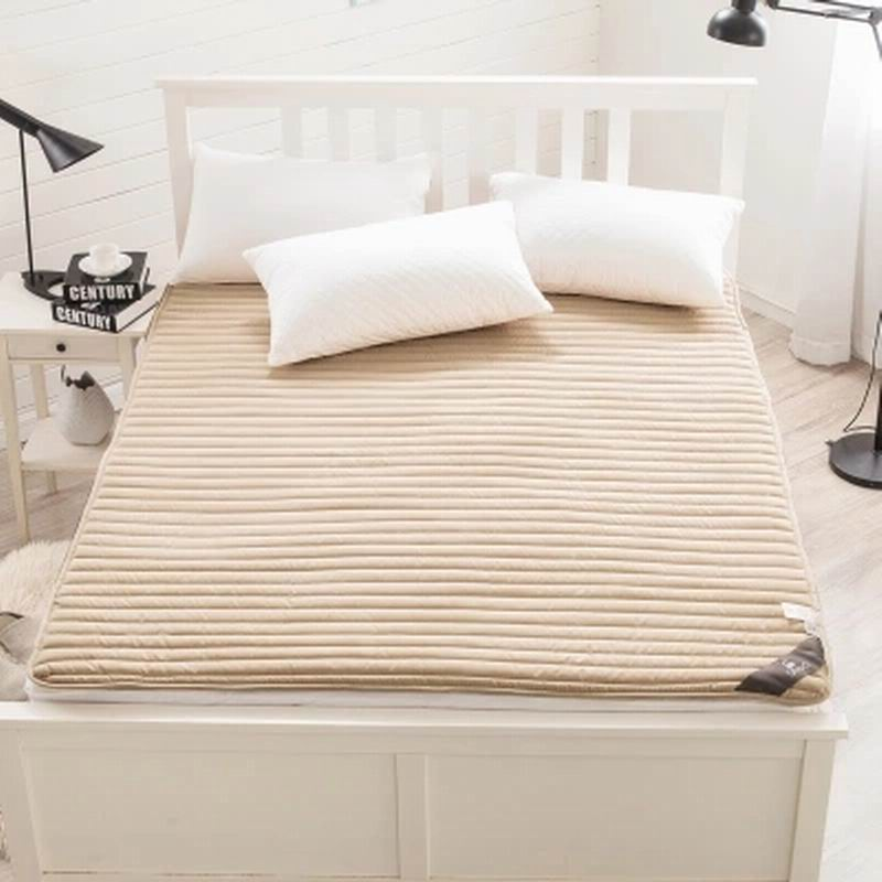 Tatami folding washing cotton thin mattress double cotton mattress pad student dormitory 5 feet /6 feet