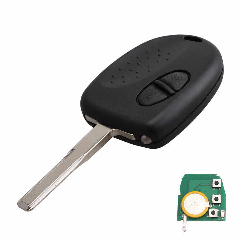 3 Buttons 304mhz Remote Key Complete With Chip Fit For