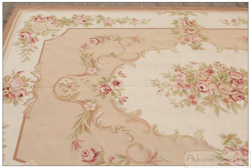 6 X9 Wool Hand Woven Shabby Chic Home Decor French Style Aubusson Area Rug Carpet Pink Ivory In From Garden On Aliexpress Alibaba Group