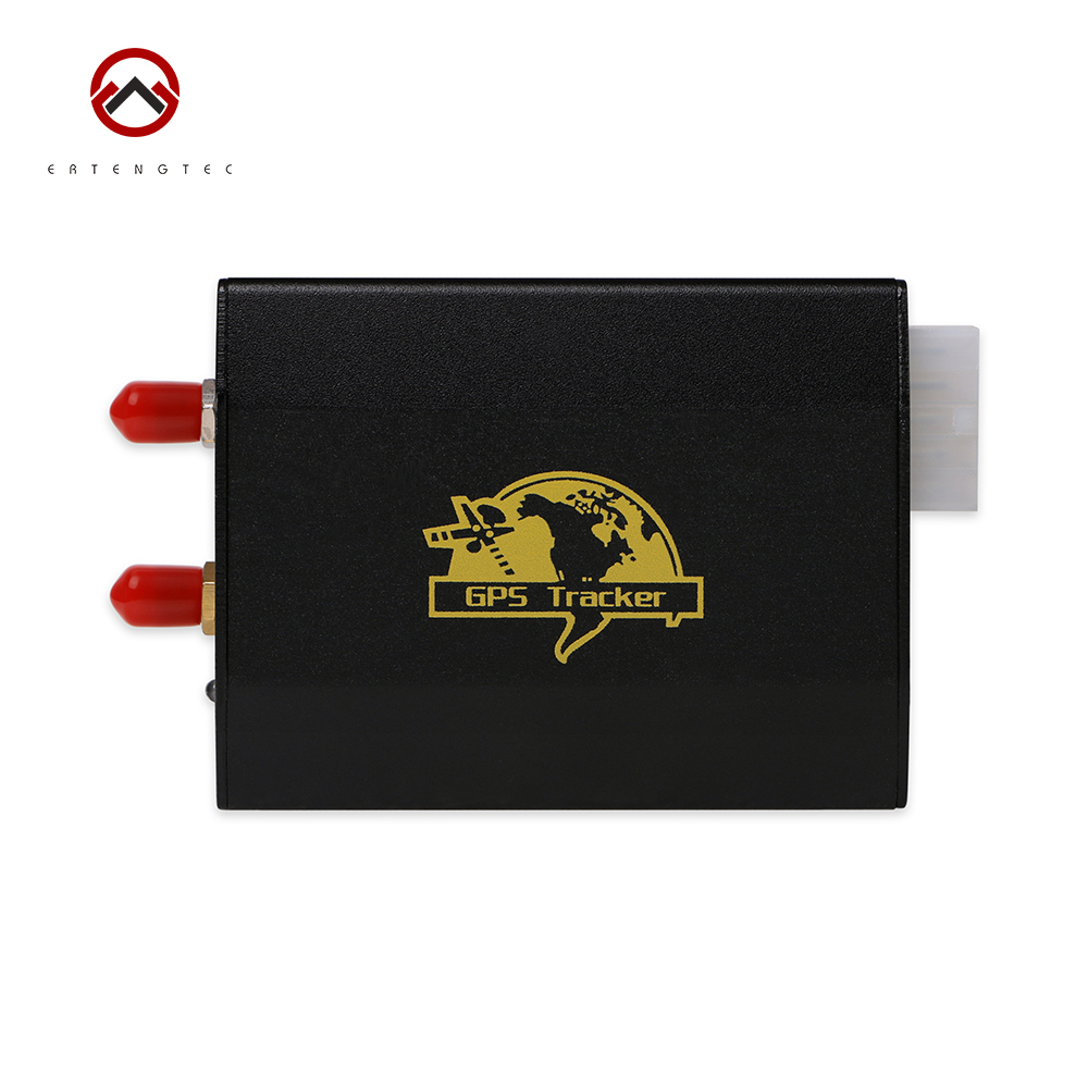 Vehicle GPS Tracker Xexun TK103-2 Car Tracking Device Dual Sim Card Slot Cut Engine Oil 50 Hours Standby Time Free Web Tracking