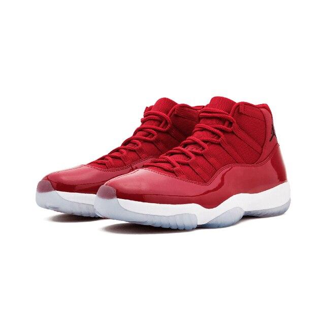 Original Authentic NIKE Air Jordan 11 Retro Legend Blue AJ11 Mens Basketball Shoes Sneakers Sport Outdoor Athletic 2018 New 5