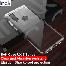 For Motorola Moto P40 Power Case IMAK Fitted Cases Phone Cover Ultra Thin Soft TPU