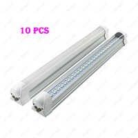 10 piezas 30 W LED de luz integrada tubo 168 leds T8 lámpara Bar 90 cm SMD 2835 claro al por mayor/ la leche blanca de la cubierta