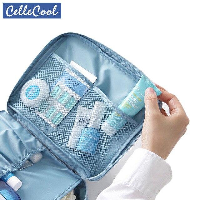 Hot Sale Multifunction travel Cosmetic Bag Women Makeup Bags Toiletries Organizer Waterproof Female Storage Make up Cases 2
