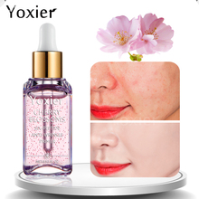 Yoxier Makeup Base Whitening Essence Anti-Wrinkle 15ml Face Cherry Blossoms Professional Serum Brand Foundation Primer 1 PCS