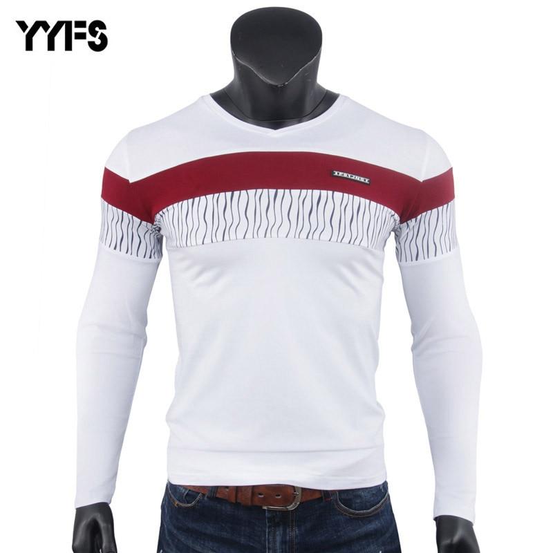 Hombres Camiseta 3 Colores Camiseta Para Hombre Hombres de La Moda camisas  de Marca De Ropa bf529672d03