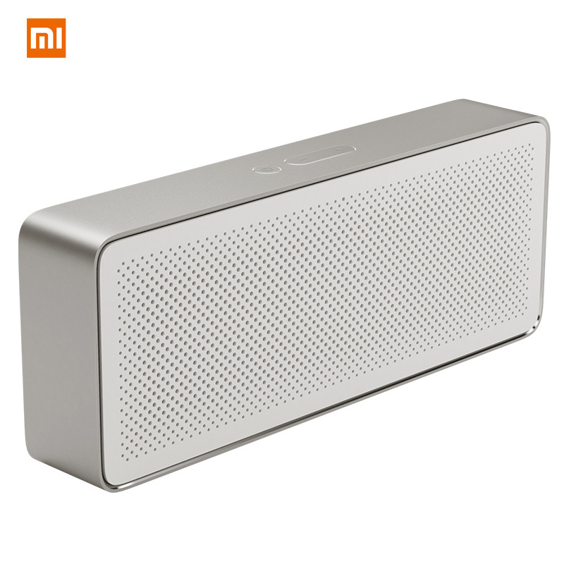 Original Xiaomi Mi Square Box Bluetooth Speaker 2 Wireless Portable Speakers Mini Stereo HD Sound Xiaomi Speaker For PC Phone original xiaomi mi rabbit bluetooth 4 0 wireless speaker red