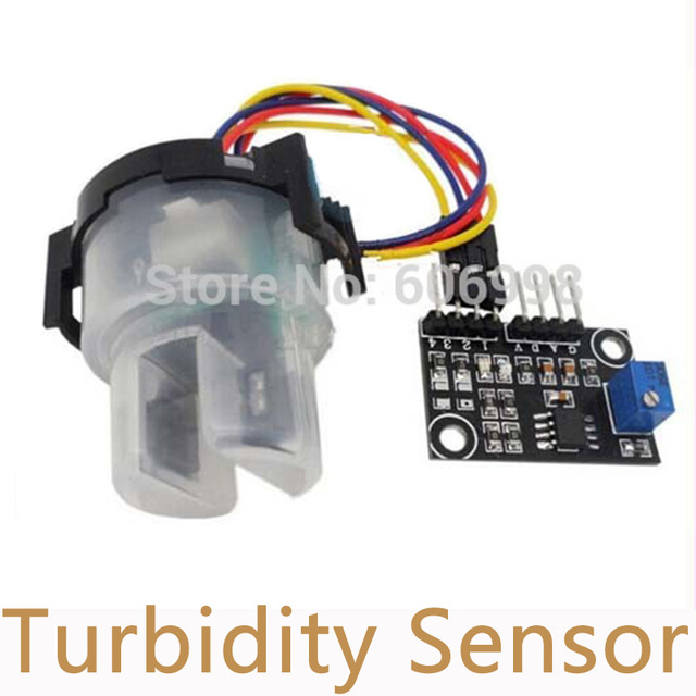 5pcs/Lot Turbidity Detection Sensor Liquid Suspended Particles Turbidity Value Detection Module