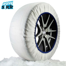 Easy Sock Automobiles Textile Snow Chains For Cars Alternative Anti Slip Fabric Tire Chain Tire Socks Traction for Snow and Ice