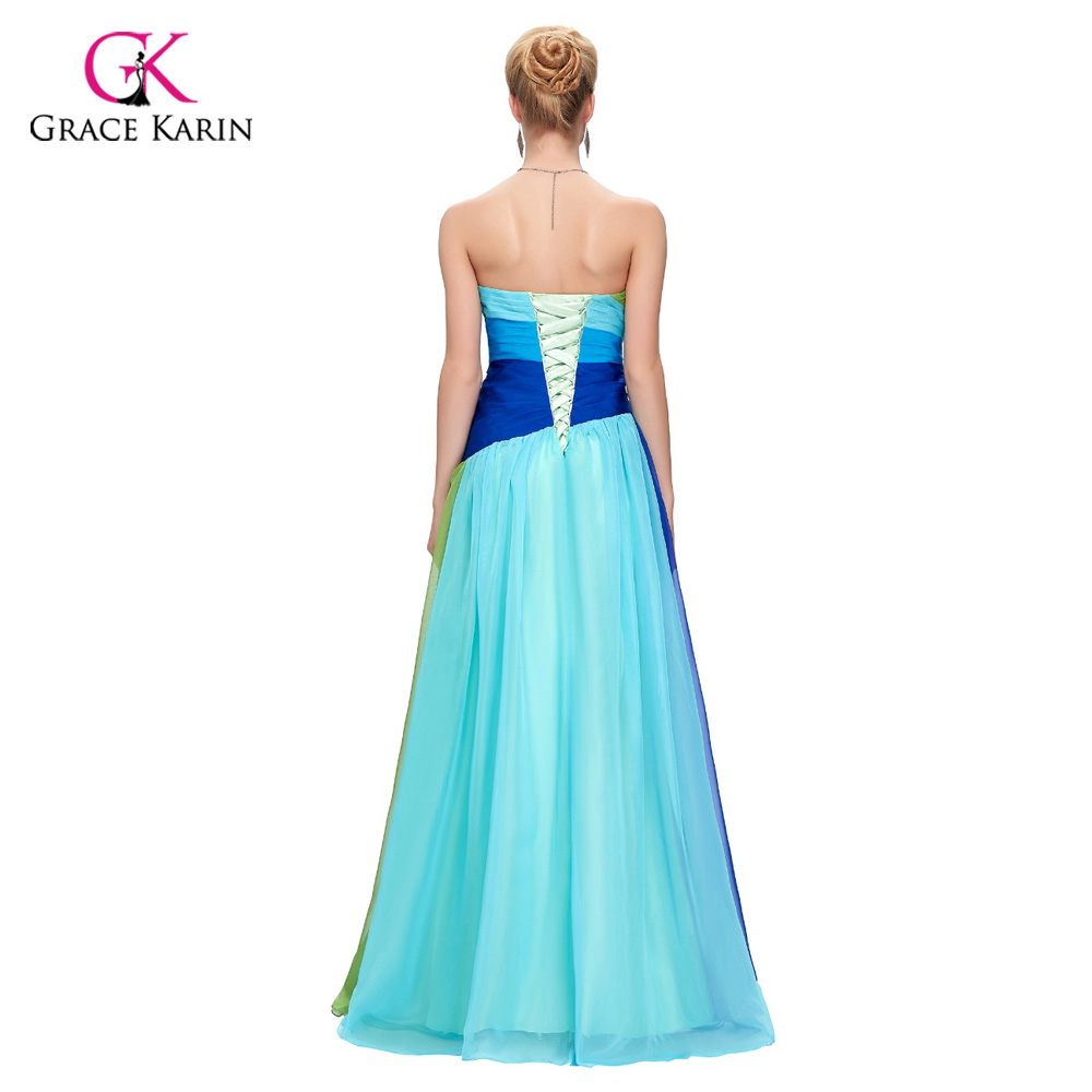 Fast Delivery Grace Karin Ombre Long Prom Dresses 2017 plus size ...