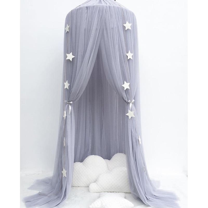 Baby Bedding Crib Netting Children Boys Girls Fantastic Princess Dream Antimosquito Cot Netting Babies' Chapion Crown Crib Net