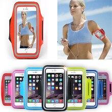For DEXP ixion es25 ml150 xl 240 ms350 es155 e150 el150 Sport Run Case Capa Arm Band Belt Phone Holder Cycling Pouch Funda Cover