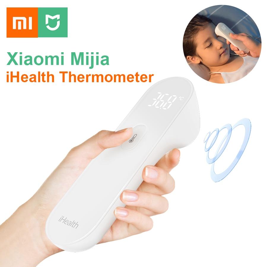 Original Xiaomi Mijia iHealth Thermometer Digital Fieber Infrarot Baby Kinder Nicht Kontaktieren Stirn Temperatur Tester Messung