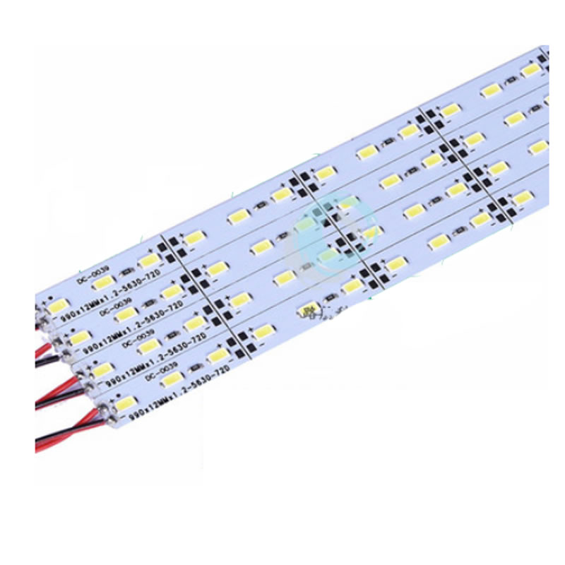 10pcs lot Hard Rigid Bar light DC12V 50cm 36 led SMD 5630 Aluminum Alloy Led Strip light For Cabinet Jewelry Display in LED Bar Lights from Lights Lighting