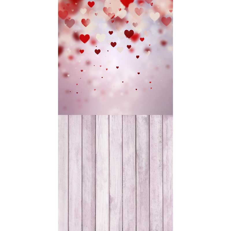 12ft Vinyl print red heart love photography backdrops for wedding photo studio portrait backgrounds photographic props F-1502 8x10ft valentine s day photography pink love heart shape adult portrait backdrop d 7324
