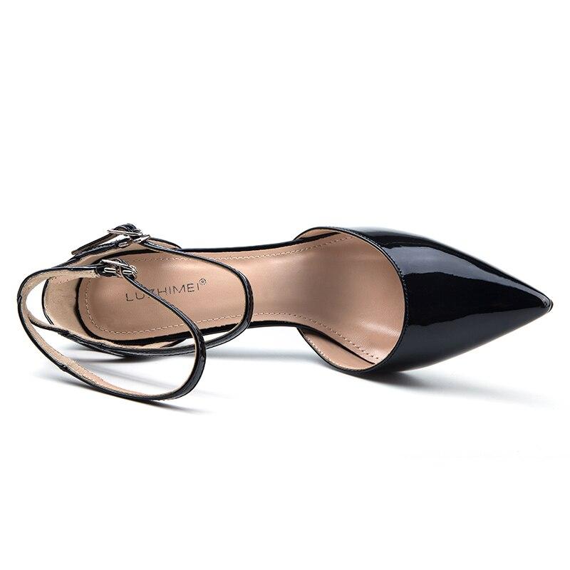 L156 L156 1 Altos Tacones Mujeres Zapatos Luzhimei De l156 1 1 Partido Cm 9 Las Delgados Feminina Mujer Sandalia 2 1 Moda Sandalias fdqcdWT