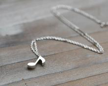 Musical Note Pendant Necklace For Women