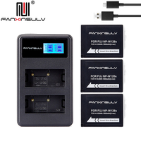 3x NP-W126S NP W126S Батарея + USB Зарядное устройство для Fujifilm Fuji XT3 XA5 XT20 XT2 XH1 XT10 XE3 X100F xpro2 корабль с номером отслеживания