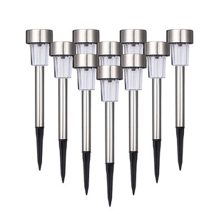 1-20 Pcs Stainless Steel Led S