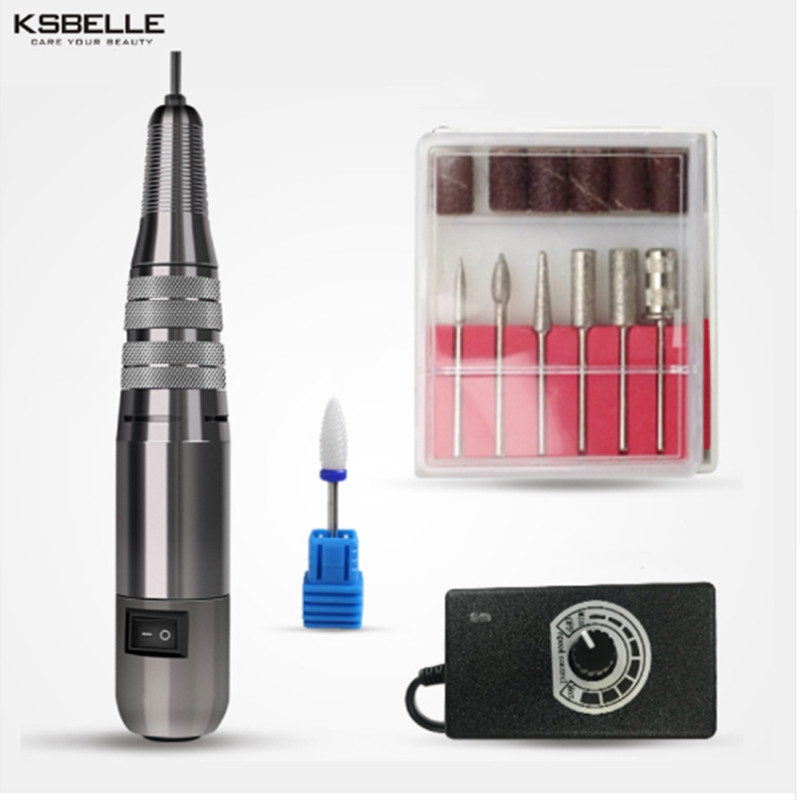 Metal Portable Easy to Operate Pen Shape Electric Nail Drill Machine For Pro Nail Division Nail Drill machine china high quality cost effective cnc portable dot peen marking machine integrated portable marking solution easy to operate