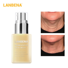 LANBENA Neck Cream Moisturizing Anti-Wrinkle Whitening Nourish Brightening Lightening Fine Line Firming  Skin Care