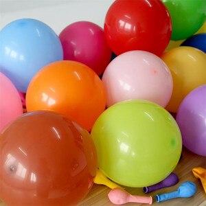 Image 2 - 30ピース/ロット5インチの厚さの白ラテックス風船インフレータブル結婚式の装飾パーティーの空気ボール誕生日パーティー用品アーチ風船