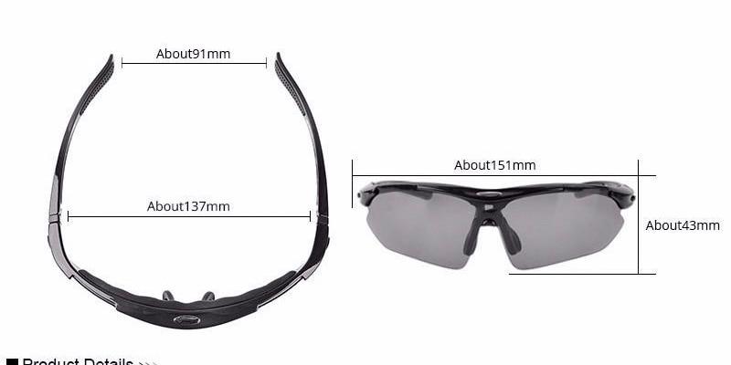 242a2c6f7 RockBros يستقطب الدراجات نظارات شمسية في الهواء الطلق دراجة هوائية ...