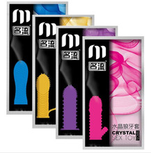 Ribbed G Point Reusable Condoms Textured Extender Sleeve screw thread Penis cover Cock Ring dildo sheath Coque Sex Toys for Men