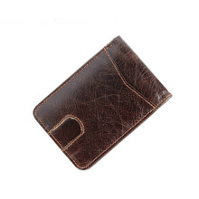 ZOVYVOL Men Women purse Card Package Business RFID Cards Holders Fashion Short Style 2 Folds Credit Holder