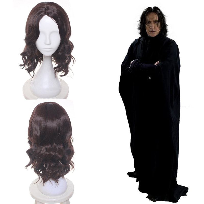 Beautiful High Quality Severus Snape Cosplay Wig Professor Snape Short Black Wig Cosplay Halloween Role Play Hair For Men Available In Various Designs And Specifications For Your Selection