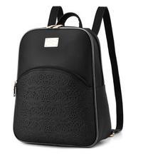 2016 новая мода путешествия рюкзак высокого класса PU институт ветер мешок отдыха женская сумка