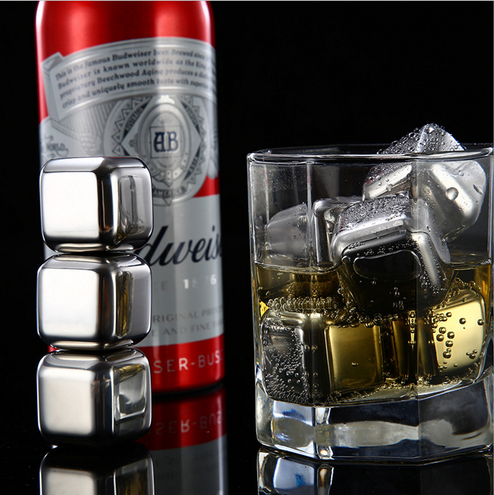 Stainless Steel Wine Ice Wine Tools 304 stainless steel granule cubes stainless steel bar home use