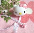 NUEVA 100 CM Hello Kitty Cinta Gobernante Escuela Papelería Cintas Cinta Métrica Tapeline Llavero Cinta Gobernante