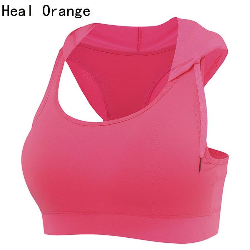 Womens Running Vest Hooded Sports Bra Padded Corsets Gym Hooded Sports Vest  Womens Tank Tops Bodybuilding Fitness Shirt Vest