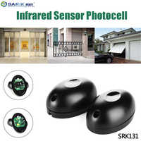 12V/24V Egg Shape Active Infrared Beam Sensor Barrier Detector With 2 photocells For Window Door Gate