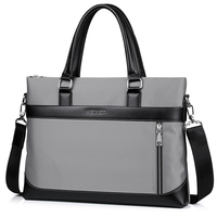Top Sell Messenger Simple Famous Brand Business Computer Men Briefcase Handbag Leather Laptop Casual Man Travel