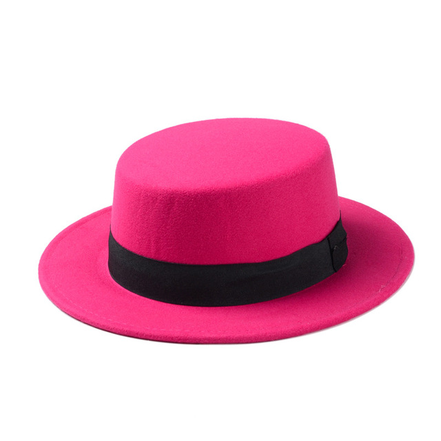 Rose red Womens fedora 5c64fe1e69502
