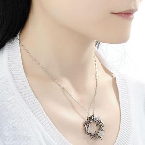Image 5 - Santuzza gümüş kolye kolye kadınlar için doğal taş kolye fit kolye için 925 ayar gümüş slayt kolye kolye