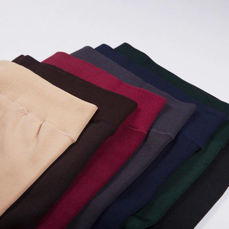 Nessaj kadın Şeker Renkler Kadınlar Pantolon Artı Kadife Kalın - Bayan Giyimi - Fotoğraf 5
