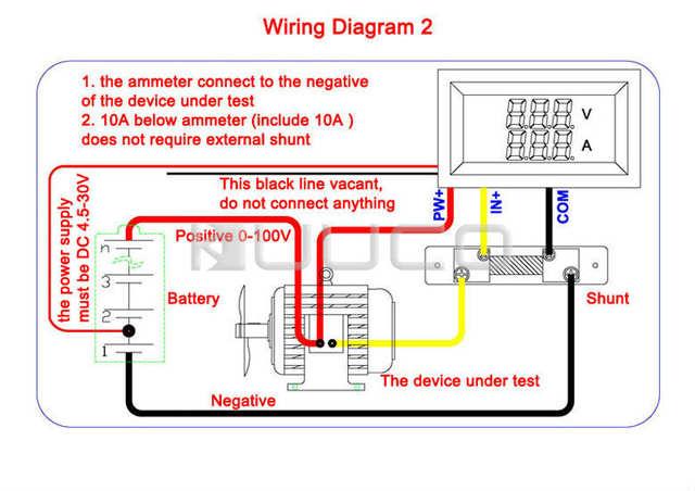 Diagram Ammeter On Ammeter Voltmeter Transducer Meters Wire Diagram