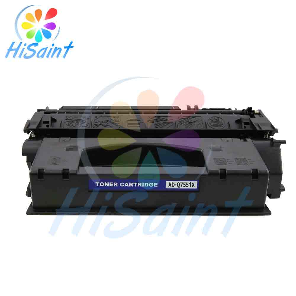 At a loss Hisaint Compatible Replacement for HP Q7551X Toner Cartridge High Yield For HP 51X Black (13,000 Page Yield) Hot Sale