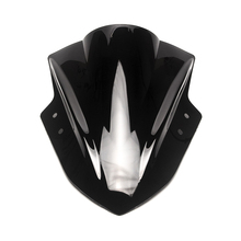 Triclicks New Motorcycle Windshield Wind Screen Triangle shield Windscreen For Kawasaki Ninja 300 EX300 2013 2014 2015 2016