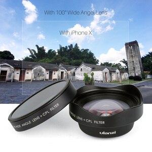 Image 2 - Ulanzi HD 4K caméra téléphone objectif 2X téléobjectif 100 grand Angle avec CPL 238 objectif Fisheye pour iphone 7/8 X HUAWEI P20 PRO xiaomi