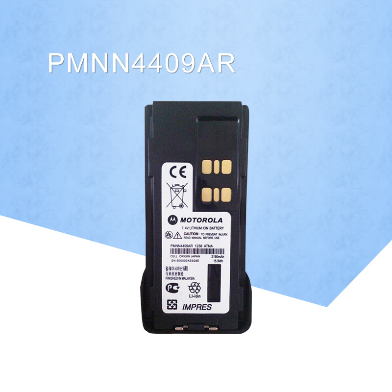 General PMNN4409AR MOTOTRBO IMPRES LITHIUM ION 2200mah Battery For Motorola GP328D XiR P8668 XPR 7550 DP4800 DGP8550 DMR RadioGeneral PMNN4409AR MOTOTRBO IMPRES LITHIUM ION 2200mah Battery For Motorola GP328D XiR P8668 XPR 7550 DP4800 DGP8550 DMR Radio
