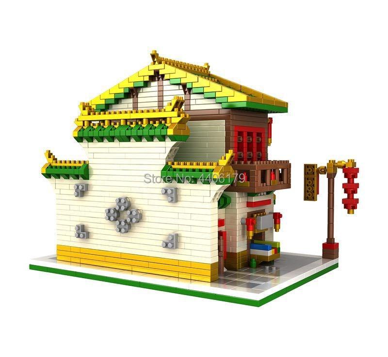 Лидер продаж строительные блоки с изображением города и улицы