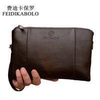Luxury Wallets PU Leather Male Purse Business Cluth Men Long Wallet Business Designer Brand Mens Handy