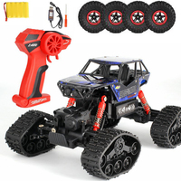 Remote Control Off Road Cars Electric RC Car Rock Crawler Toy On The Radio Controlled 4x4 Drive Toys For Boys Kids Gift