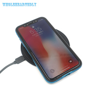 Qi Wireless Charger For IPhone X 8 Plus Samsung Galaxy Note 8 S8 Plus S7 S6