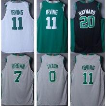d6dca9d6e15 Hot mens basketball jerseys Kyrie Irving Jaylen Brown Gordon Hayward Jayson  Tatum jersey for cheap sale